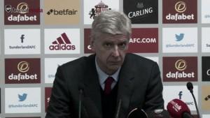 """Wenger: """"Jugamos para ganar la liga y no hacerlo es frustrante"""""""