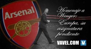 Homenaje a Wenger: Europa, su asignatura pendiente