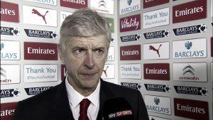 """Wenger: """"La velocidad de nuestro estilo creó muchos problemas al Stoke"""""""