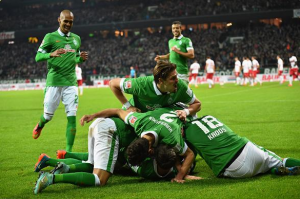 Werder Bremen 2-0 VfB Stuttgart: Goals from Prödl and Bartels sweep Stuttgart away