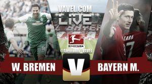 Resultado Werder Bremen vs Bayern de Múnich en Bundesliga 2015 (0-1)