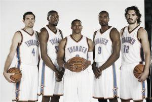 Durant y Westbrook, protagonistas en el Media Day de Oklahoma City Thunder