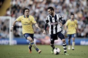 Arsenal - West Bromwich Albion: último paso hacia la plaza Champions