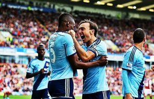 Il momento magico del West Ham