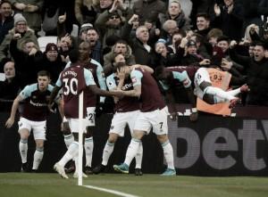 West Ham segura pressão do Chelsea e volta a vencer após seis jogos