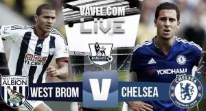 Score West Brom vs Chelsea in Premier League 2015