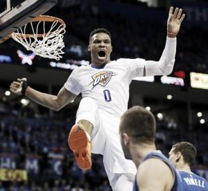 Westbrook fue demasiado para los Mavs