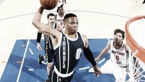 Durant y Westbrook asaltan el Madison Square Garden