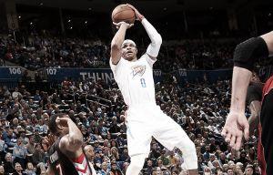 Resumen NBA: Westbrook y los Warriors, a otro nivel