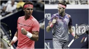 Rafael Nadal vence Del Potro pela semifinal do US Open 2017 (3-1)