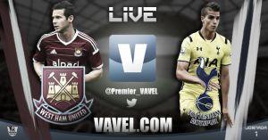 West Ham vs Tottenham en vivo y en directo online