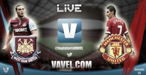 West Ham United vs Manchester United en vivo online (1-1)