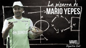 La pizarra de Mario Yepes:Atlético Junior