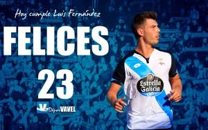 Luis Fernández cumple 23 años