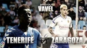 CD Tenerife - Real Zaragoza: mar de dudas entre Zaragoza y la isla