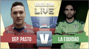 Resultado Deportivo Pasto 1-1 Equidad en Liga Águila 2017