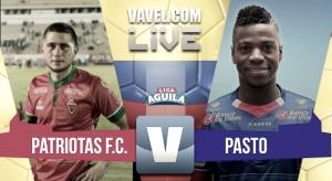 Deportivo Pasto vs Patriotas en vivo y en directo online por la Liga Águila 2017-1