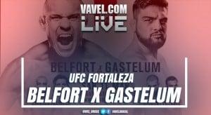 Resultado e videos luta Vitor Belfort x Gastelum na UFC Fortaleza