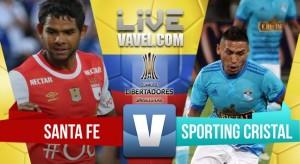 Santa Fe sufrió un poco pero terminó goleando a Sporting Cristal (3-0)
