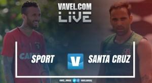 Resultado Sport x Santa Cruz no Campeonato Pernambucano 2017 (1-1)