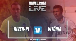 Resultado River-PI x Vitória na Copa do Nordeste 2017 (2-3)