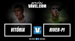 Após abrir boa vantagem, Vitória encara River visando vaga nas semifinais
