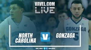 Resultado de North Carolina x Gonzaga pelo Final Four da NCAA 2017 (71-65)