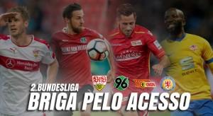 Quatro clubes para três vagas: muito equilíbrio na briga pelo acesso à elite alemã