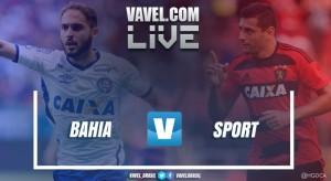 Jogo Bahia x Sport AO VIVO hoje na Copa do Nordeste 2017 (0-0)