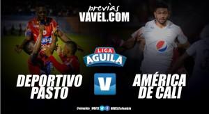 Previa Deportivo Pasto vs América de Cali: el 'tricolor' hará fuerte su casa para pasar de ronda