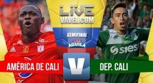 América vs Cali en directo online por la Liga Águila I 2017 (0-0)