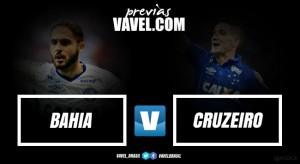 Em jogo que fecha a quinta rodada do Brasileirão, Bahia recebe Cruzeiro na Fonte Nova