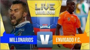 Resultado Millonarios 1-0 Envigado en Liga Águila 2017-II