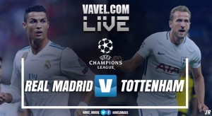 Resultado Real Madrid x Tottenham na Uefa Champions League 2017 (1-1)