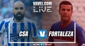 Resultado CSA x Fortaleza pelo Campeonato Brasileiro Série C 2017 (0-0 (2-1))
