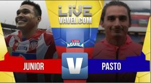 Junior vs Deportivo Pasto en vivo online por la Liga Aguila 2017 (0-0)