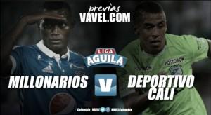 Previa Millonarios- Deportivo Cali: los azucareros a cerrar bien el año ante los azules