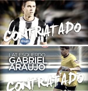 Júnior Timbó e Gabriel Araújo são os novos contratados do Náutico