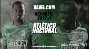 Resumen Atlético Nacional 2017-II: Rodin Quiñones, la promesa que no explotó