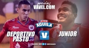 Previa Deportivo Pasto vs Atlético Junior: los locales se presentan ante su gente contra rival de nómina alterna
