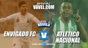 Previa Envigado FC vs Atlético Nacional: Choque regional en el sur del Valle de Aburrá