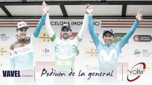 Volta a Catalunya 2018: Nairo subcampeón y dominio del Movistar Team