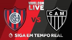 Resultado San Lorenzo x Atlético-MG pela Copa Sul-Americana (1-0)