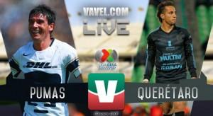 Pumas UNAM vs Querétaro En Vivo Online Liga MX 2018 (1-0)