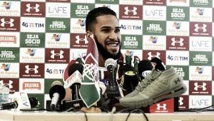 """Apresentado após estrear pelo Fluminense, Everaldo afirma: """"Estava louco para vestir a camisa"""""""