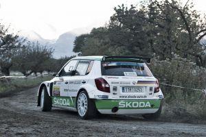 Wiegand sorprende con el liderato en el Rally du Valais