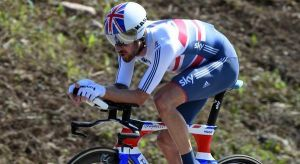 Wiggins wins Time Trial championship