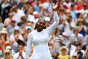Wimbledon 2018: Serena Williams into last eight with little trouble