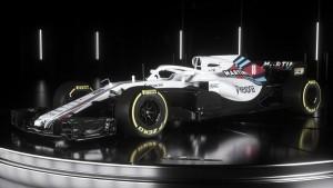 Williams lança oficialmente o FW41 para a temporada 2018 da F1