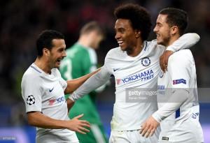 Qarabag FK 0-4 Chelsea: Willian brace ensures Blues progress into last 16